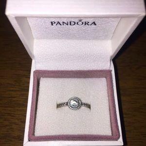 Authentic new Pandora ring size 7.5-8